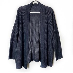 Eileen Fisher Knit Open Concept Cardigan